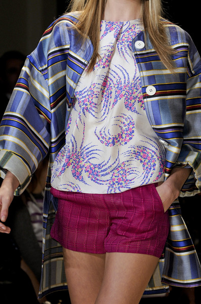 Vanessa Bruno at Paris Spring 2011 (Details)