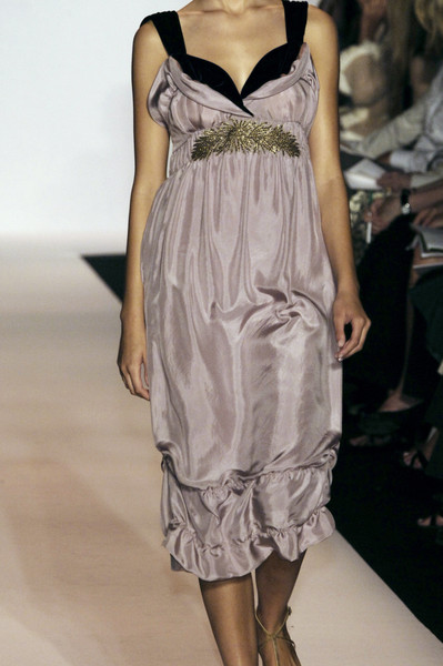 Vera Wang at New York Spring 2006 (Details)