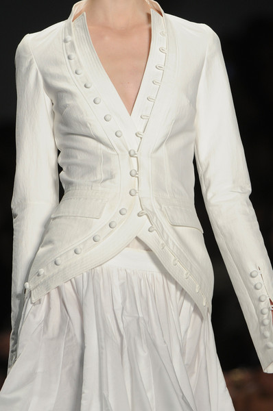 Vera Wang at New York Spring 2013 (Details)