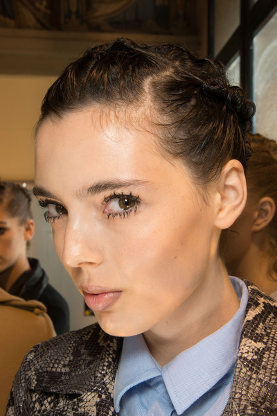 Véronique Leroy at Paris Spring 2013 (Backstage)