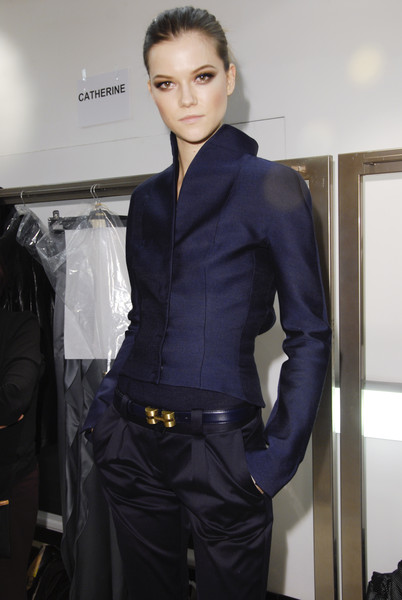 Versace at Milan Fall 2008 (Backstage)