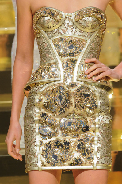 Versace Couture Details, Spring 2012