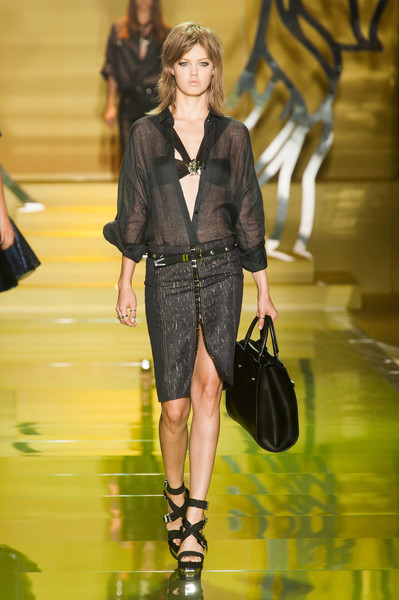 Versace at Milan Spring 2014