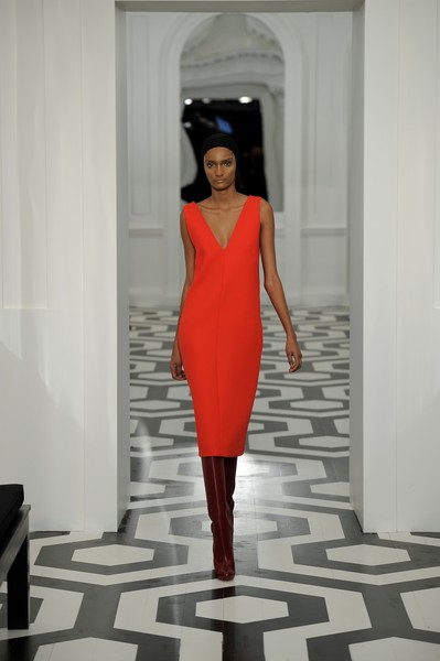 Victoria Beckham Press Office at New York Fall 2011