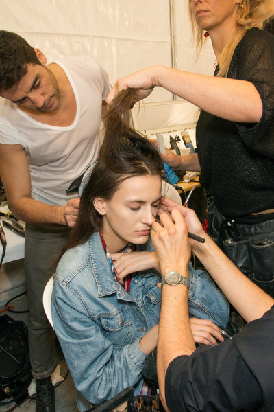 Viktor & Rolf at Paris Spring 2013 (Backstage)