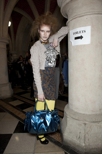 Vivienne Westwood at London Fall 2010 (Backstage)