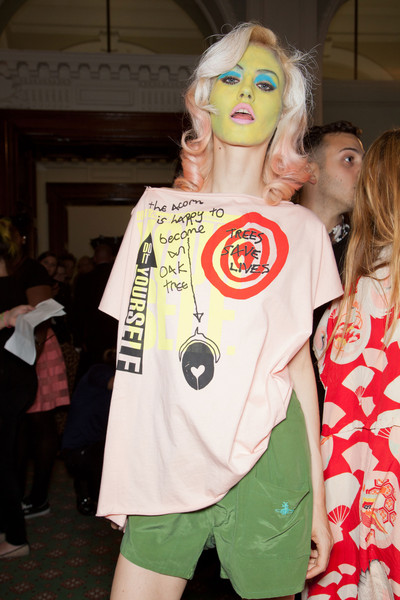 Vivienne Westwood at London Spring 2013 (Backstage)