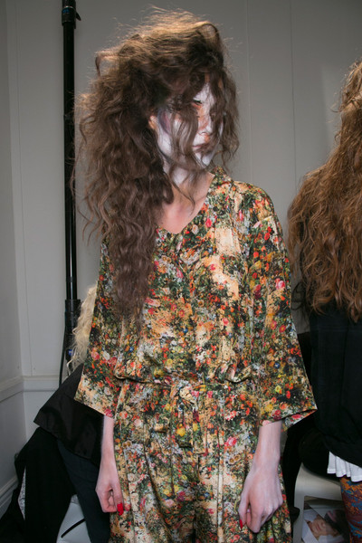 Vivienne Westwood at London Spring 2014 (Backstage)