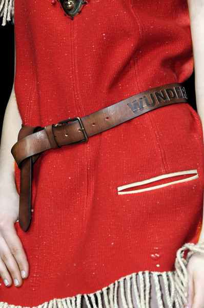 Wunderkind at Paris Fall 2010 (Details)