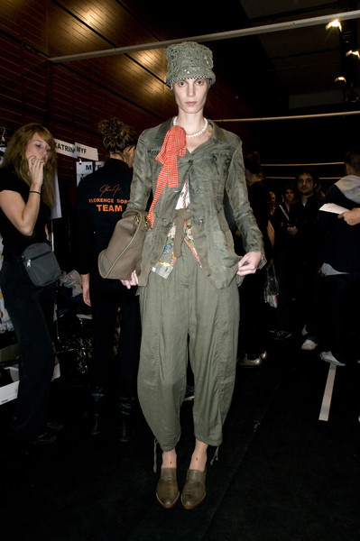 Wunderkind at Paris Spring 2009 (Backstage)