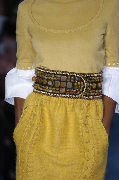 Yves Saint Laurent at Paris Fall 2005 (Details)
