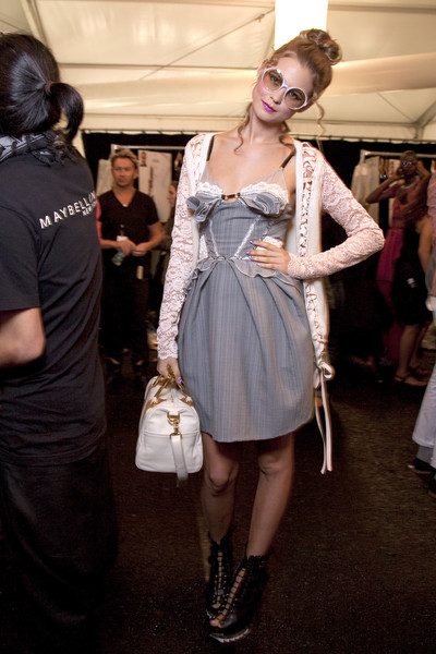 Z Spoke by Zac Posen at New York Spring 2011 (Backstage)