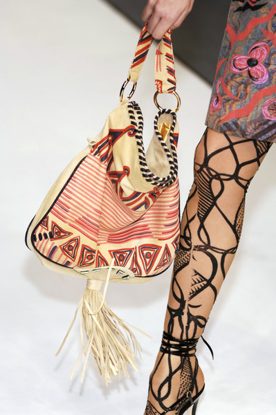 Zandra Rhodes at London Spring 2007 (Details)