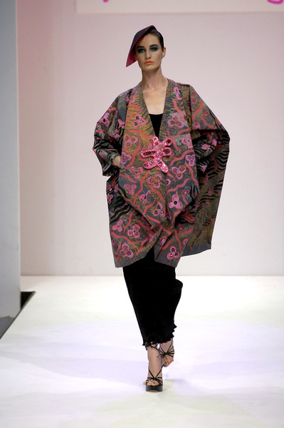 Zandra Rhodes at London Spring 2007