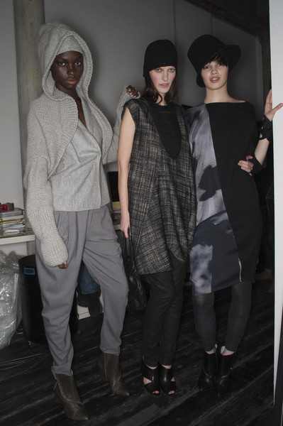 Zero + Maria Cornejo at New York Fall 2010 (Backstage)