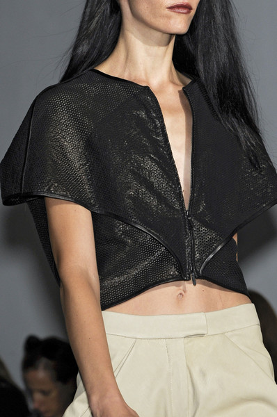 Zero + Maria Cornejo at New York Spring 2011 (Details)