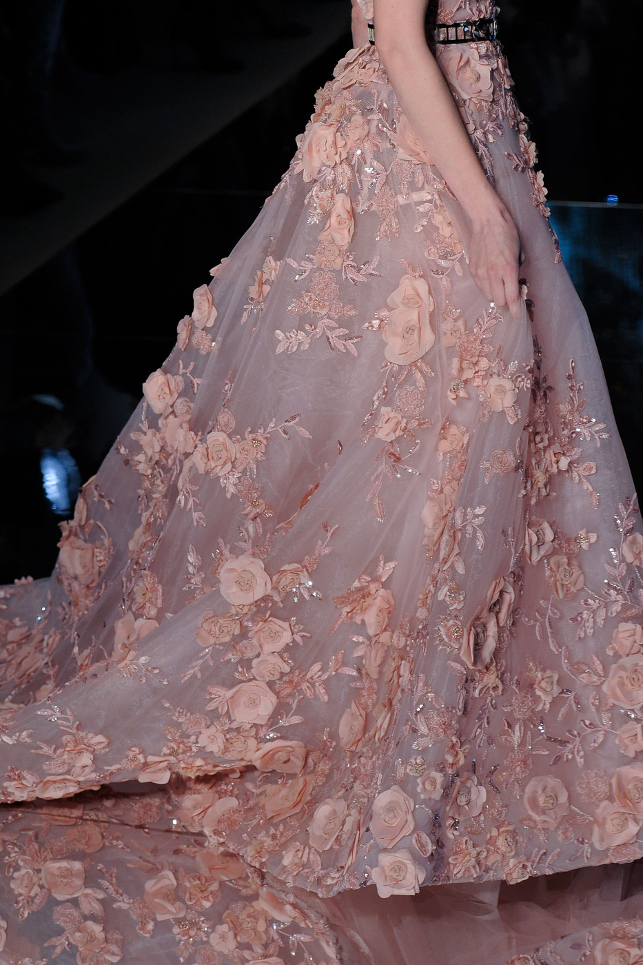 Zuhair murad at couture spring 2016 livingly for Haute couture details
