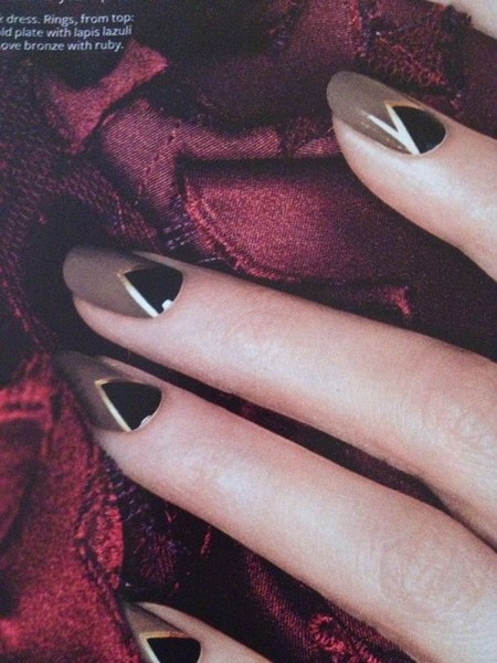 Art Deco Nails That Are Artsier Than You