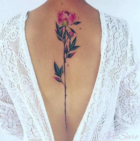These Watercolor Tattoos Remarkably Bring Paint To Life