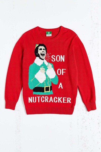 Urban Outfitters Ugly Christmas Sweater.Epic Elf Crewneck The Ultimate Ugly Christmas Sweater