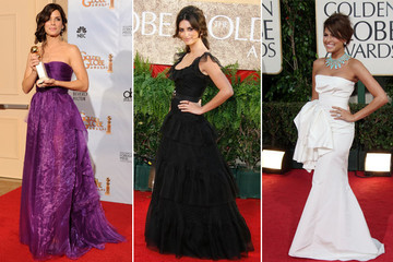 The Best Dressed at the Golden Globe Awards - A Retrospective