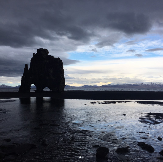 Black sand beach vik iceland the most breathtaking for How many black sand beaches in the world