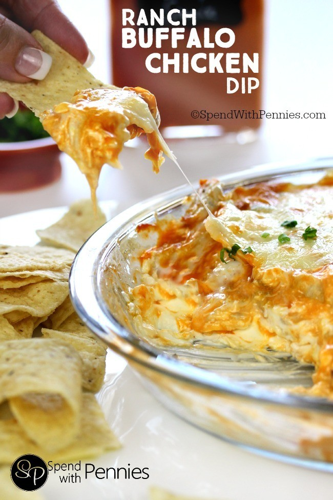 Ranch Buffalo Chicken Dip - Delicious and Easy Party Dips ...