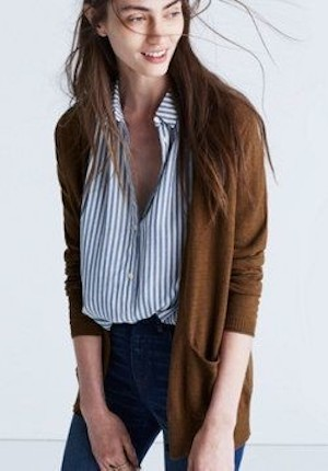 Add Loose Cardis With Unbuttoned Tops