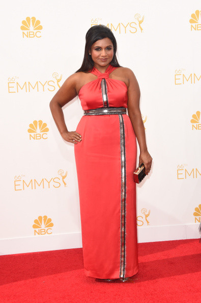Mindy Kaling 2014 Emmy Awards