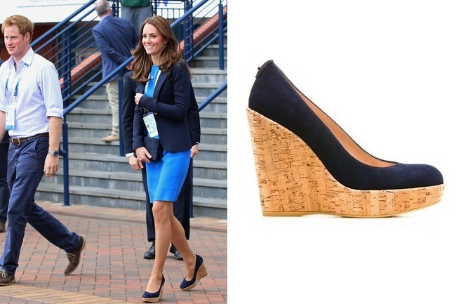 07f00ae60731 Found  Kate Middleton s Wedges - Celebrity Style - Livingly