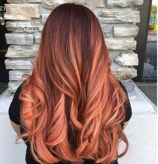 Copper Rose Rose Gold Hair Ideas That Ll Have You Dye Ing For This