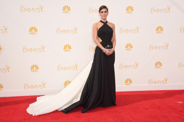 Lizzy Caplan 2014 Emmy Awards