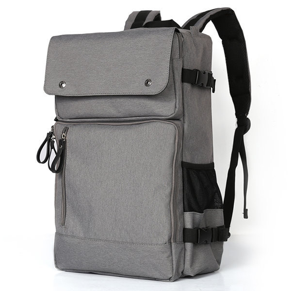 Oxford Backpack Travel Bag: Outside