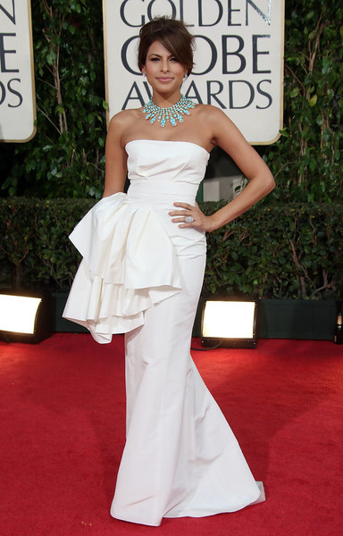 Eva Mendes in Christian Dior at the 2009 Golden Globes