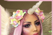 Ethereal Unicorn Makeup Ideas For Halloween
