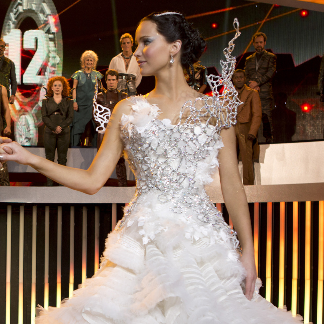 Katniss' Most Powerful 'Hunger Games' Dresses, Illustrated