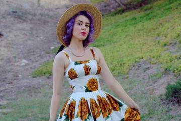 Vintage Muse: Ashley of Southern (California) Belle