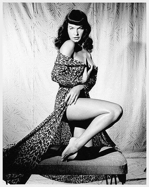 Pin-Up Leopard Print
