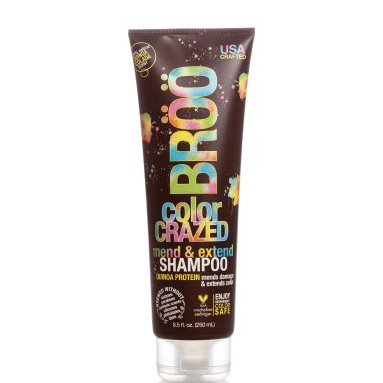 BROO Craft Beer Color Crazed Shampoo