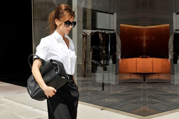 We Love: Victoria Beckham's Minimalist Paris Look