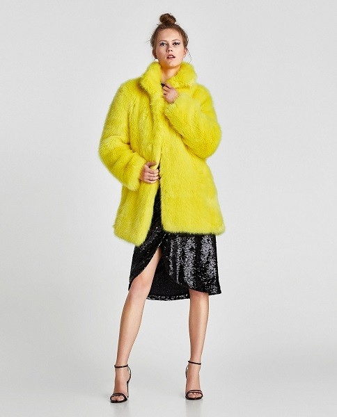Canary Yellow Coat