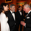 Prince Charles, George, And Amal Clooney
