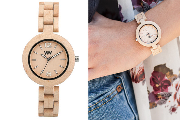A 100% Maple Wood Watch that Plants a Tree With Each Purchase