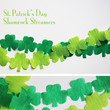 St. Patrick's Day Streamer Garland