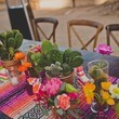 Colorful Cactus Table