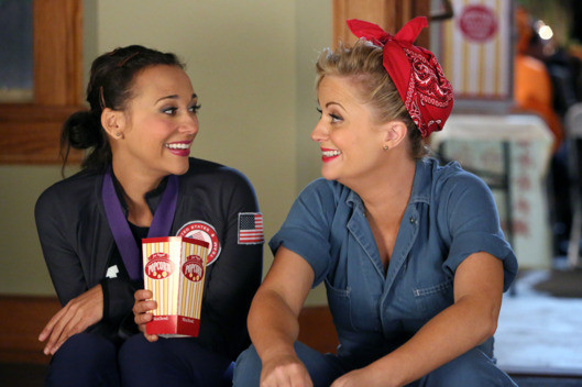 Leslie Knope And Ann Perkins In 'Parks And Recreation'
