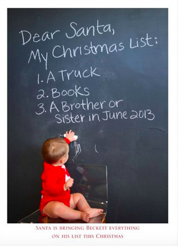 Add a baby to that Christmas list