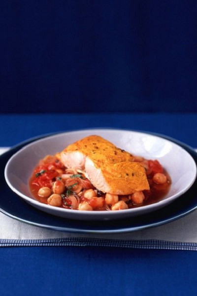 15-Minute Salmon with Indian Spices