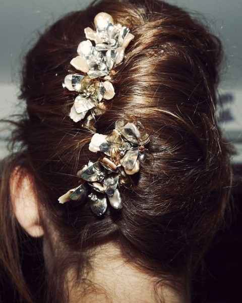 Pretty Pinned Updo