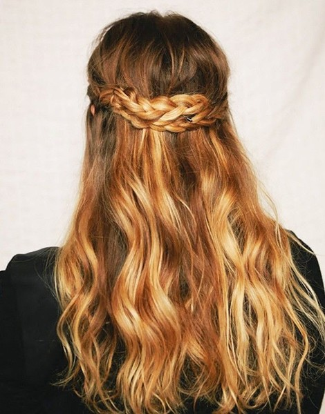"The ""Halfie"" Braid"
